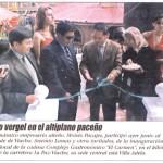 Primera Plana El Alteño, Mayo 2007